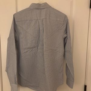 Brooks Brothers Striped Button Down Blouse